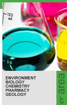 Enviromental Sciences, Biology, Chemistry, Pharmacy, Geology